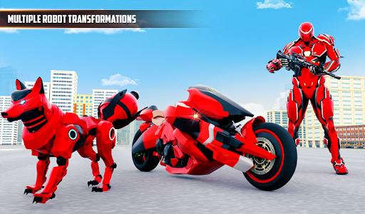 Wild Fox Transform Bike Robot Shooting: Robot Game 12 screenshots 14