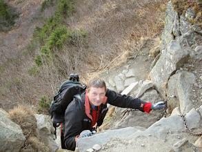 Photo: 22.Mało-rycemu robię fotkę z góry.
