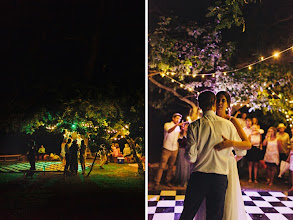 Photo: First dance under an ancient Oak