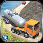 Oil Tanker Transporter Truck Icon