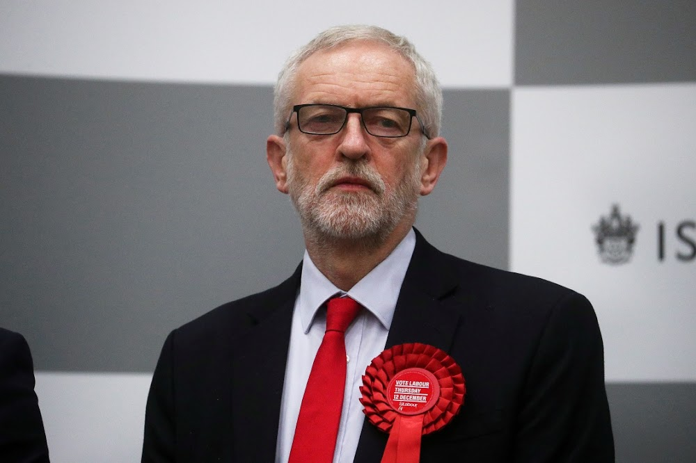 Jeremy Corbyn routed as UK gives socialism a thumbs down