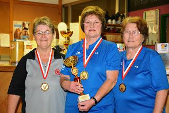 Photo: Senioren Einzel-Damen – die Siegerinnen