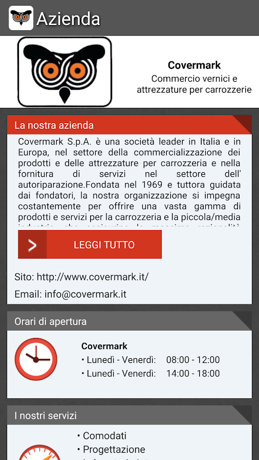 Covermark- screenshot