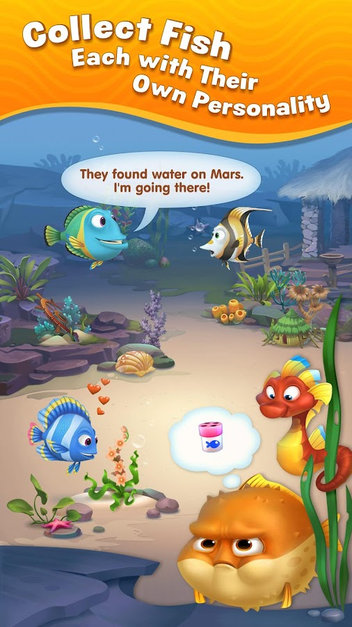 Fishdom – A Cute Android Game for all ages! – AppsHerald