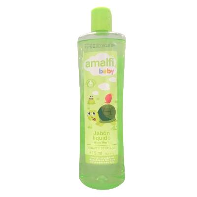 gel de bano amalfi baby aloe vera 415 ml
