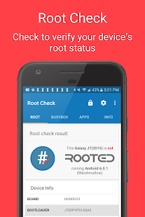 Root Check Screenshot
