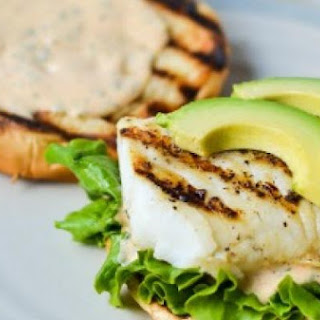 Grilled Fish Sandwiches.
