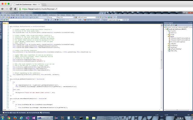 IceLink WebRTC Screen Capture