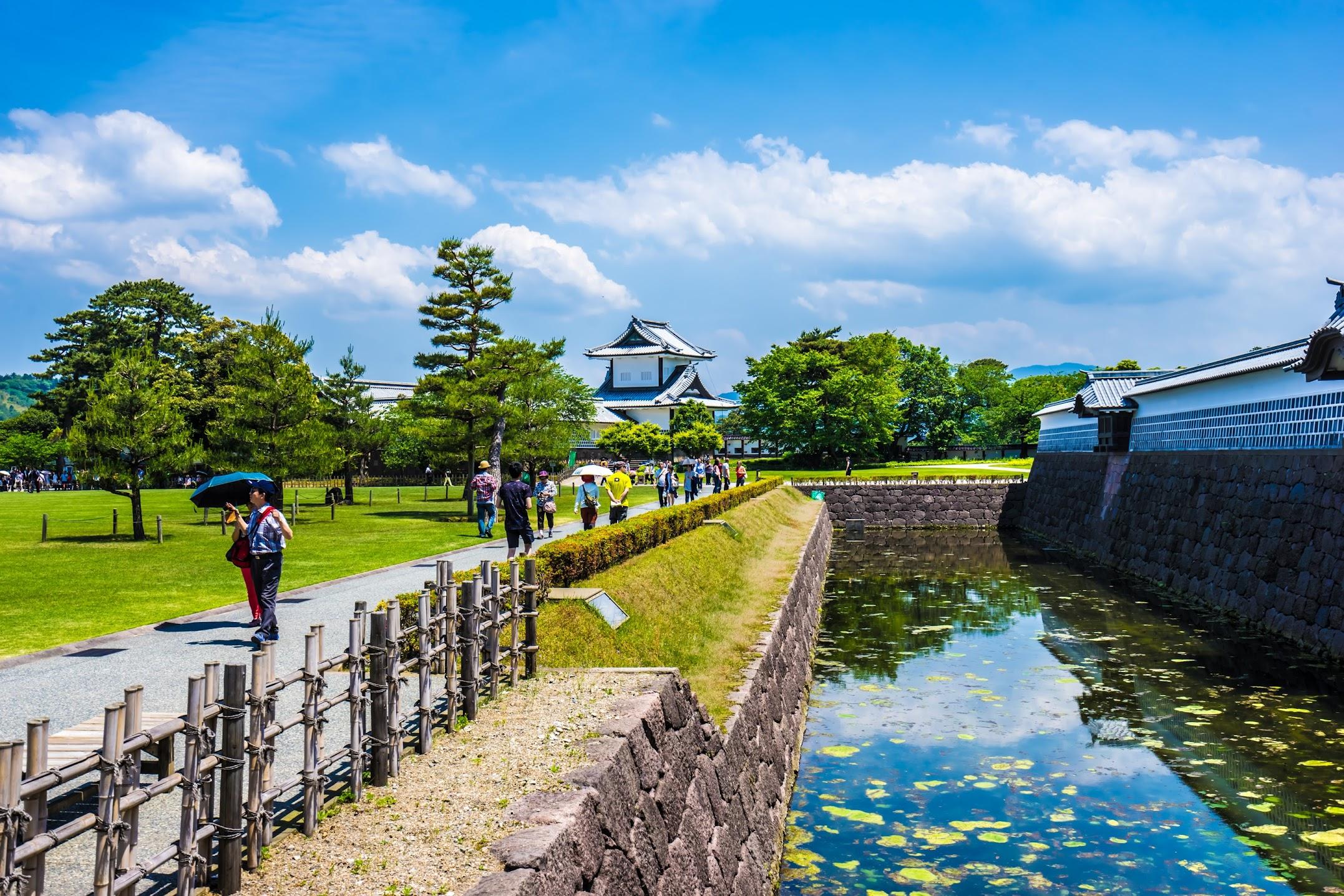 Kanazawa Castle Park San-no-maru square