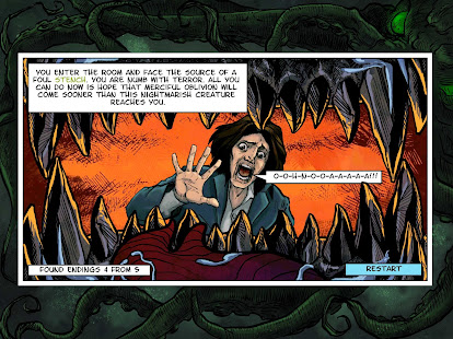 Lovecraft Quest – A Comix Game 13