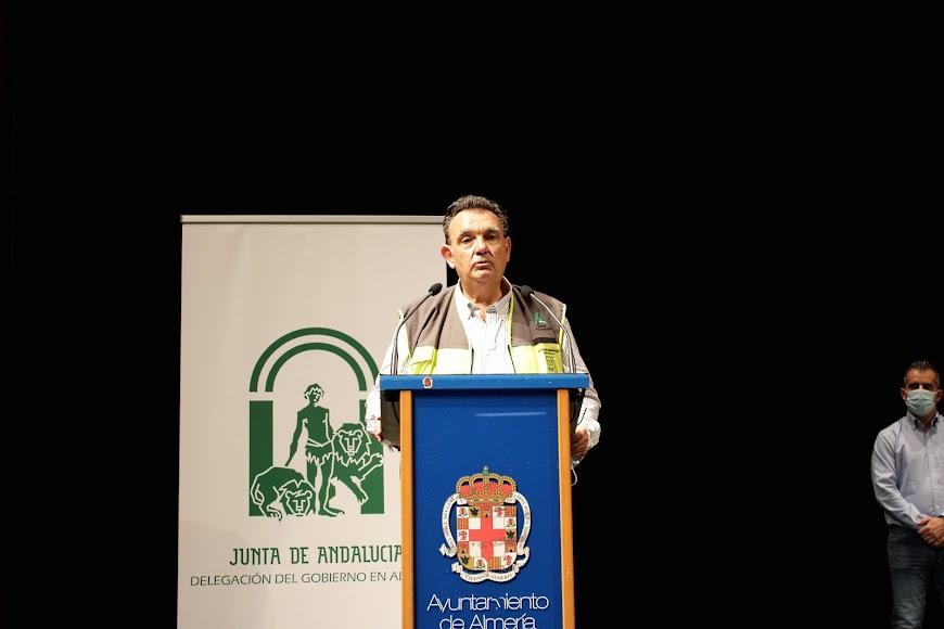 Jacobo Acosta Velasco, jefe de Servicio de Protección Civil en Almería.