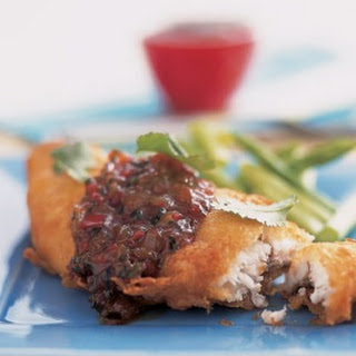 Deep-fried Fish With Chilli Jam.