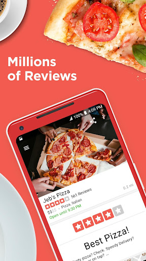 Yelp: Food, Shopping, Services app (apk) free download for Android/PC/Windows screenshot