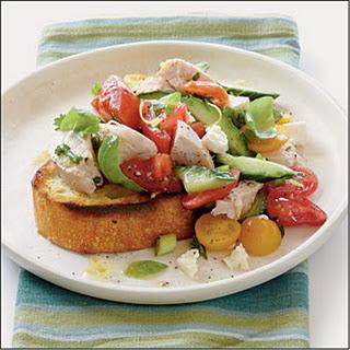 Tomato-Chicken Salad