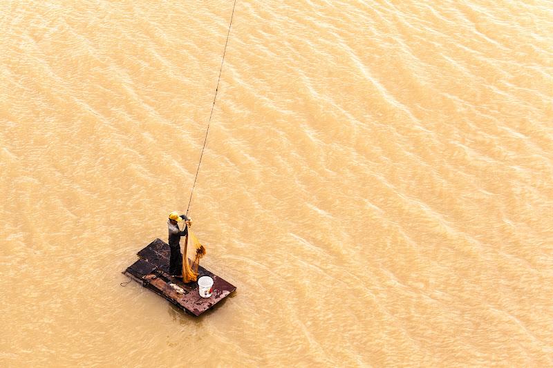 Pescatore cambogiano di Dario Lo Presti