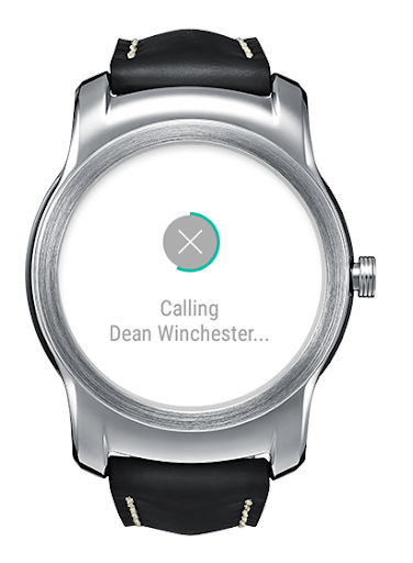 LG Call for Android Wear screenshot 4