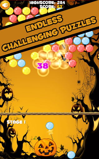 Bubble Shooter Halloween Games