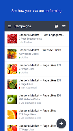 Facebook Ads Manager screenshot 25404