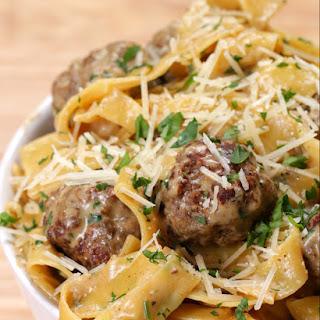 One-Pot Swedish Meatball Pasta Recipe