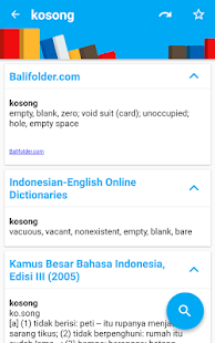 Indonesian Dictionary - Definition & Synonyms - náhled