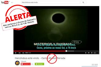 """Photo: Veja só o absurdo: Hercólubus giraria ao redor de um sol negro.  O vídeo mostra que o cometa-planeta de Carlos Muñoz Ferrada teria três velocidades, uma velocidade de 92 km/s quando ao redor do sol negro dele, outra velocidade de 76 Km/s quando próximo de nosso sol e uma velocidade de 360km/s quando viajando entre o nosso sol e o tal do sol negro, ou sol morto, estrela morta.  Como pode ver o vídeo afirma que o cometa-planeta deles gira em torno de um SOL NEGRO o que é manifestamente diferente, oposto e  CONTRÁRIO aos ensinamentos do Mestre Samael e ao livro Hercólubus ou Planeta Vermelho do V.M. Rabolú, pois todo gnóstico ( o verdadeiro ) sabe que  Hercólubus gira é em torno do sol de Tilo ( ou Tylo ) e não em torno de sol negro nenhum.  Veja o que há muito tempo atrás dizia o V.M. Samael: """" O Hercólubus já se encontra a vista de todos os astrônomos do planeta Terra, é um mundo gigantesco, poderoso, seis vezes maior do que Júpter e pertence ao sistema solar de TILO. Não é como alguns supõem, um planeta deslocado de algum sistema, não, não deslocou-se, gravita ao redor do centro gravitacional do sistema solar de TILO"""". ( V.M. Samael Aun Weor  ) ."""