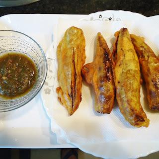 Indian Fritters- Hari Mirch ke Pakode/ Green Chili Fritters.