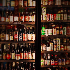 Micro brews by Richard Calderon - Food & Drink Alcohol & Drinks ( stock, beer, micro, alcohal, brew, inventory, bar )