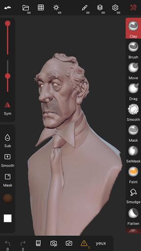 Nomad Sculpt screenshots 1