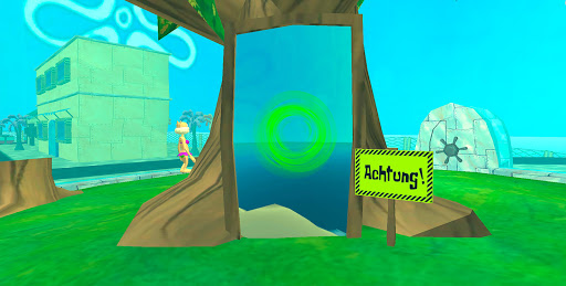 Bikini Bottom Map - Original Bob Adventure Game android2mod screenshots 2