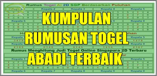 ad0f2fc97 Kumpulan Rumus Jitu Togel - Apps on Google Play