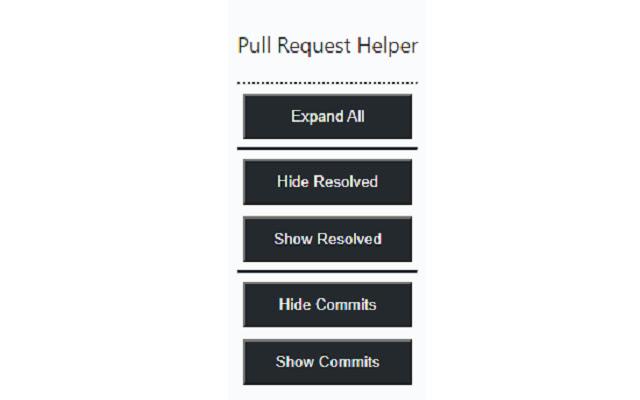 Github Pull Request Helper