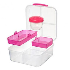 Bento Cube TO GO Pink 1,25l