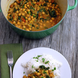 Chickpea Curry.