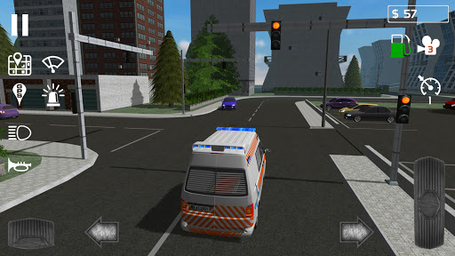 Emergency Ambulance Simulator  captures d'u00e9cran 2