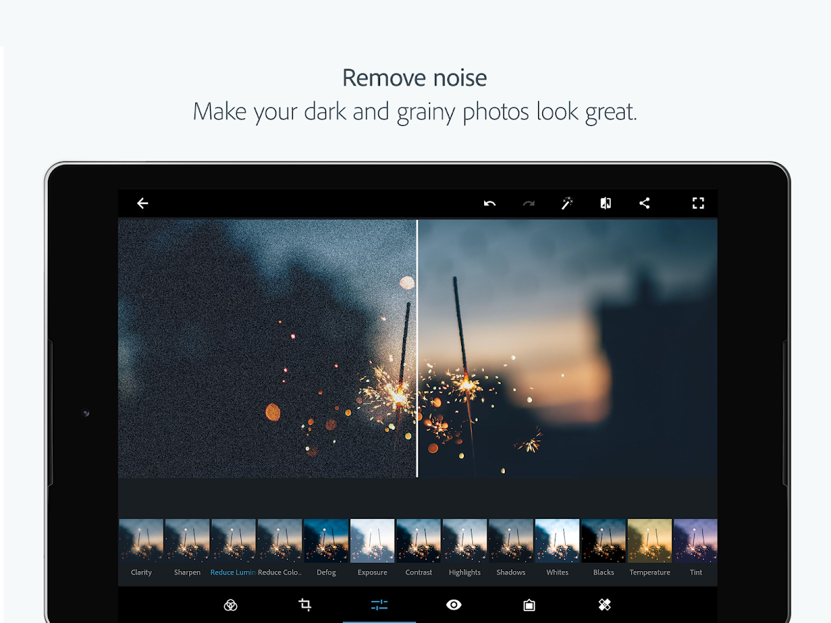 Adobe Photoshop Express: Easy & Quick Photo Editor– captură de ecran