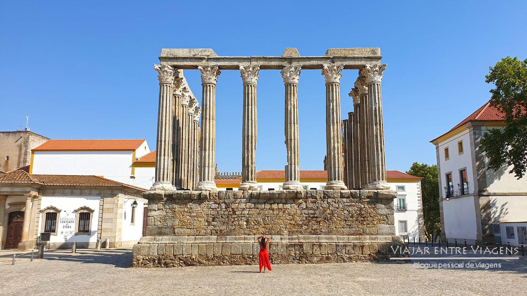 Templo de Diana - VISITAR ÉVORA, o que ver e fazer na cidade-museu, Património Mundial da UNESCO