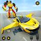 Flying Car Robot Shooting: Taxi Car Transformation