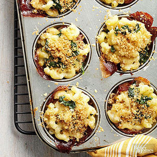 Tuscan Mac and Cheese Cups