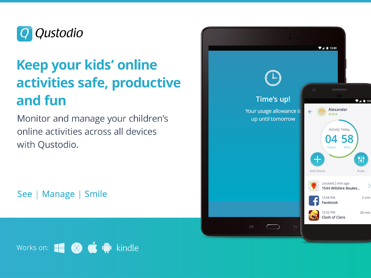 Qustodio Parental Control- screenshot