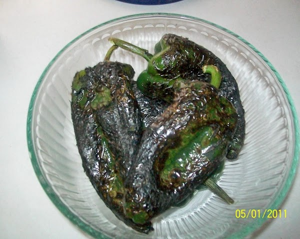 Charring them and then putting them in oil and keeping them in the refrigerator...