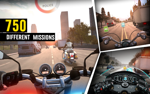 MotorBike: Traffic & Drag Racing I New Race Game apkpoly screenshots 12