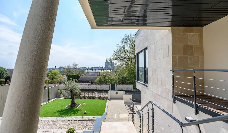 Maison contemporaine avec jardin Chartres