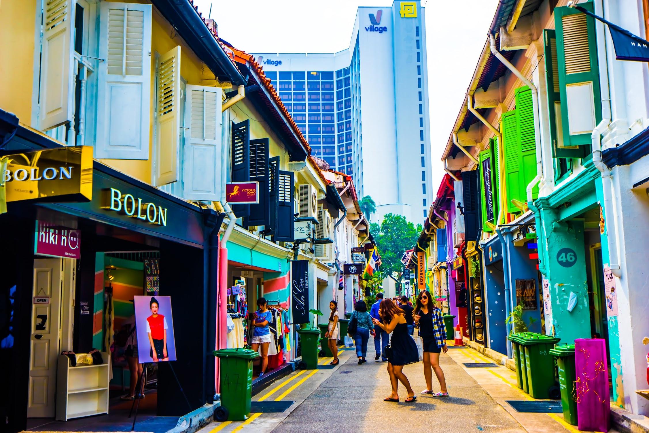 シンガポール アラブ・ストリート ハジ・レーン1