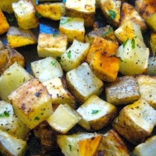 Oven Baked Home Fries.