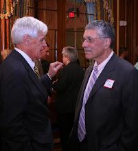 Photo: Governor's Councillor Bob Jubinville with Max Stern(Stern, Shapiro, Weissberg & Garin).