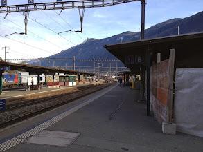 Photo: Martigny station