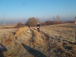 Zdjęcie: Na prowadzeniu po 3km Tomasz Brzeski Mistrz Świata NW.