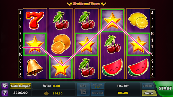 Fruits and Stars Slots – Casino Fruit Machine- screenshot thumbnail