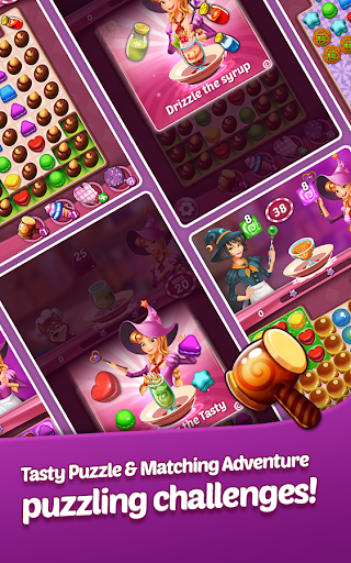 Tasty Magic: Match 3 Sweet Puzzle for Dessert 1.0.30 3