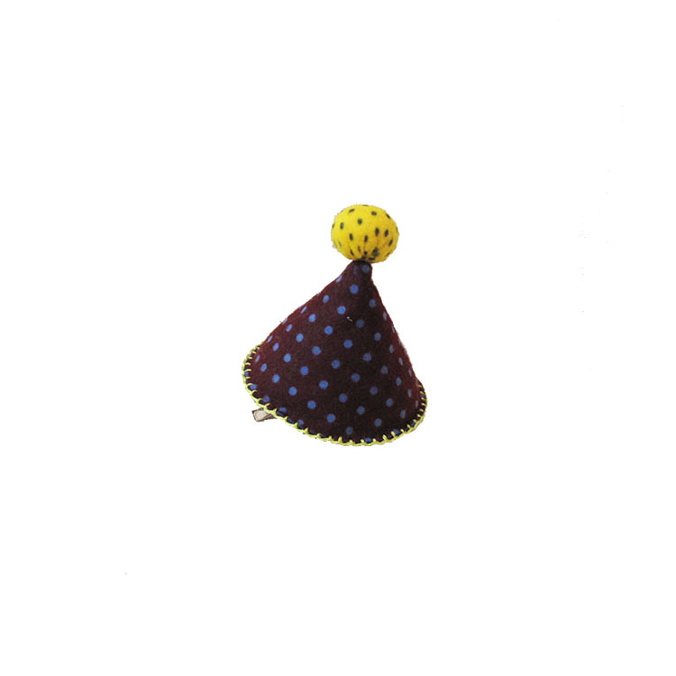 PARTY HAT PURPLE CLIP by STH Creative S/B